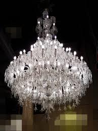 Palast Kronleuchter Kristall Kronleuchter Modern Silber