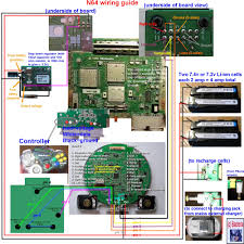 racketboy com • view topic complete n64 wiring diagram to make complete n64 wiring diagram to make into a portable