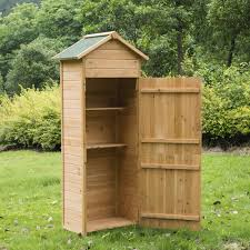 Wood Utility Cabinet Details About New Wooden Garden Shed Apex Sheds Tool Storage