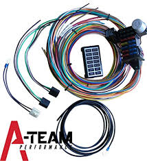 amazon com a team performance 14 circuit basic wire kit small street and performance tpi wiring harness at Street And Performance Wiring Harness