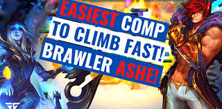 HOW TO BRAWLER ASHE - EASIEST COMP TO CLIMB FAST - TFT Best Comps - Tier  Lists - Pivotal Gamers