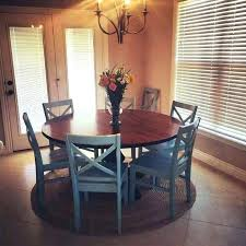 round dining room tables for 6 kitchen table with chairs sets 60 inches wi