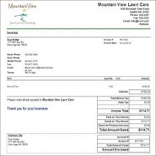 Latest Snow Removal Invoice Template Billing Format Maker Roblox