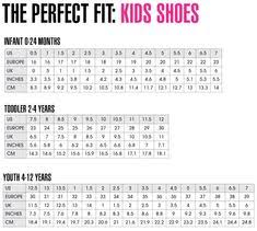 Little Kid Big Kid Shoe Size Chart 150 Best Children Shoes Images Kids Outfits Shoes Kids
