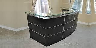 office furniture reception desk counter. We Are Committed To Offering Fairly Priced And Finely Crafted, Contemporary  Executive Desks Office Furniture. Offer A Complete Upscale Furniture Reception Desk Counter