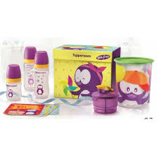 tupperware le baby set free cards with gift box