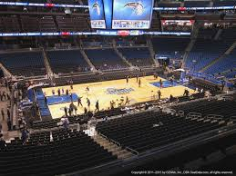 Magic Seating Chart At Amway Arena Qualified Amway Arena Seats Amway Arena Orlando Florida
