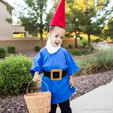 no sew garden gnome costume