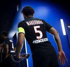 Pre-Match - Kapitän Marquinhos Bild - Kaufen / Verkaufen
