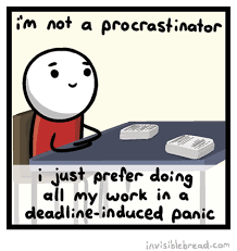 dear procrastination the happy quitter