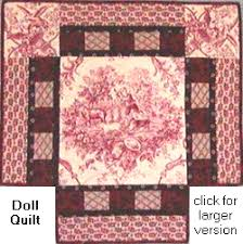 Free Medallion Baby & Doll Quilt Pattern With Instructions & medallion doll quilt Adamdwight.com