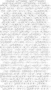 the fully expanded form of the standard model looks ridiculous