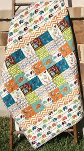 Organic Baby Quilt, Safari Soiree, Birch Fabrics, All Natural Eco ... & Organic Baby Quilt Safari Soiree Birch by SunnysideDesigns2 Adamdwight.com