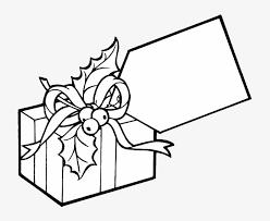 Gift Tag Coloring Page Big Tag Present Coloring Page Gift Coloring Page Png