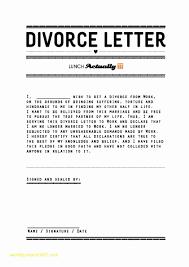 14 Divorce Letter Templates Hospedagemdesites165 Com