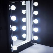 Vanity Light Up Us 14 74 41 Off 10pcs Led Modern Dressing Table Mirror Vanity Light Diy Make Up Mirror Lamp Stepless Dimmable Hollywood Mirror Wall Lamp Bulbs In