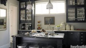 What Color To Paint Kitchen With Dark Cabinets Unique Decorating Ideas