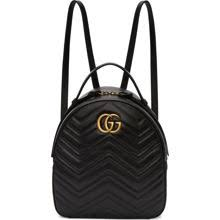 gucci bags backpack. go to shop. gucci black gg marmont backpack bags v