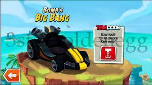 Angry Birds GO! Character Bombs Big Bang Animation - YouTube