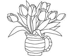 Small Picture Cool Coloring Pages Of Flowers Vase Coloring Coloring Pages