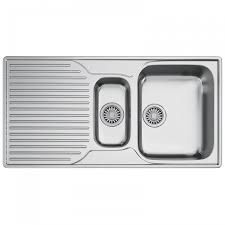 Franke Ariane ARX 651P Stainless Steel 1.5 Bowl Sink, Left Hand ...