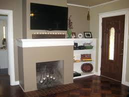 smlf hanging tv over fireplace without studs mounting above brick into gas chic beautiful remodels decoration wall