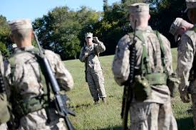 Marine Corps Hand Signals Photos Nrotc Tests And Trains Students The Gw Hatchet