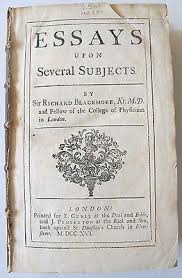products hamilton s rare books and antiques 1716 essay nature of epick poetry homer s iliad wit false virtue nature