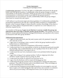 Confidentiality Agreement Samples Group Confidentiality Agreement Template 19 Confidentiality