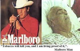 richard hammer marlboro man. dan inilah yang terjadi pada bintang iklan malboro man. mereka tampak \ richard hammer marlboro man