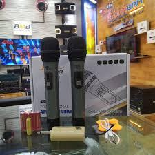 Chính Hãng ] Micro không dây đa năng Audio Service ADS 001 cho loa kéo, dàn  âm thanh