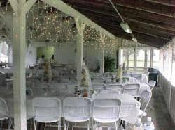 chippokes conference shelter setu up for wedding
