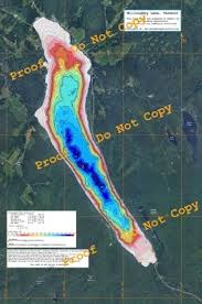 Vt Depth Chart Lake Willoughby Color Depth Map The Westmore Association
