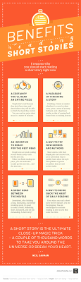 reasons why you should start reading short stories the benefits of reading short stories infographic