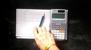 how to solve linear equations with 3 variables using calculator casio fx 991es plus
