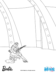 Keira And Riff Barbie Coloring Page