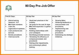 90 Day Action Plan Templates Unique 13 30 60 90 Day Plan Example