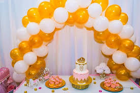 Smiles N Styles Our Cake Table Setup For A 1st Birthday