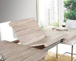 modern extended mdf dining table sonoma: quotraulquot modern extended mdf dining table in sonoma oak effect ven