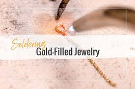 soldering gold filled jewelry