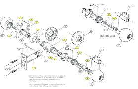 Door Knob Lock Diagram WIRING CENTER