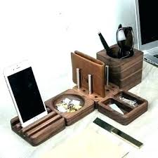 awesome office accessories. Awesome Desk Accessories Office Set Remarkable Wooden Solid Wood Tidy Fun G