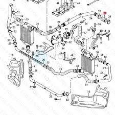 Audi a4 8e b7 8h stewart 2 7 tdi 3 0 tdi turbo charge air hose