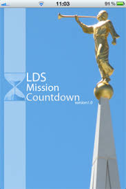 Lds Mission Countdown Iphone App The Ultimate Trunky Tool