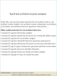 Resume Of Architecture Student Igniteresumes Com