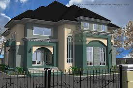 5 bedroom duplex residential homes and public designs for modern duplex house plans in nigeria