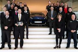 Leven Car Company Receives Number 1 Dealer In The World Award From Aston Martin Car Dealer News