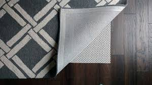 100 natural rubber rug pad this inexpensive rug pad can damage your floors in the long