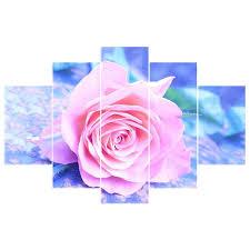 pink rose 5d diy diamond painting kit square round rhinestones cross stitch kit diamond embroidery mosaic needlework craft dk010 xekr54108