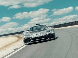 The amg one features a compact hybrid drivetrain that shares many components with mercedes' formula one cars. Mercedes Amg One Is One Step Closer To Production Roadshow